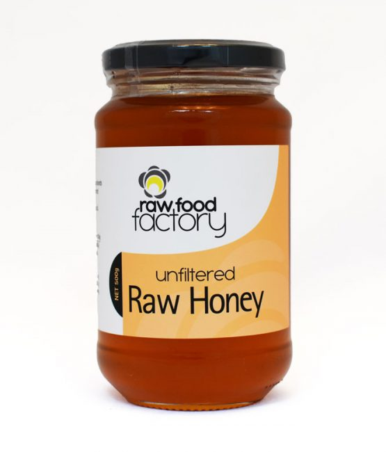 Raw Food Factory Unfiltered Raw Honey (500g)