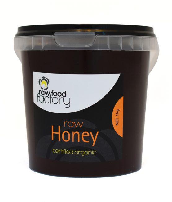 Raw Food Factory Raw Honey Certified Organic 1kg