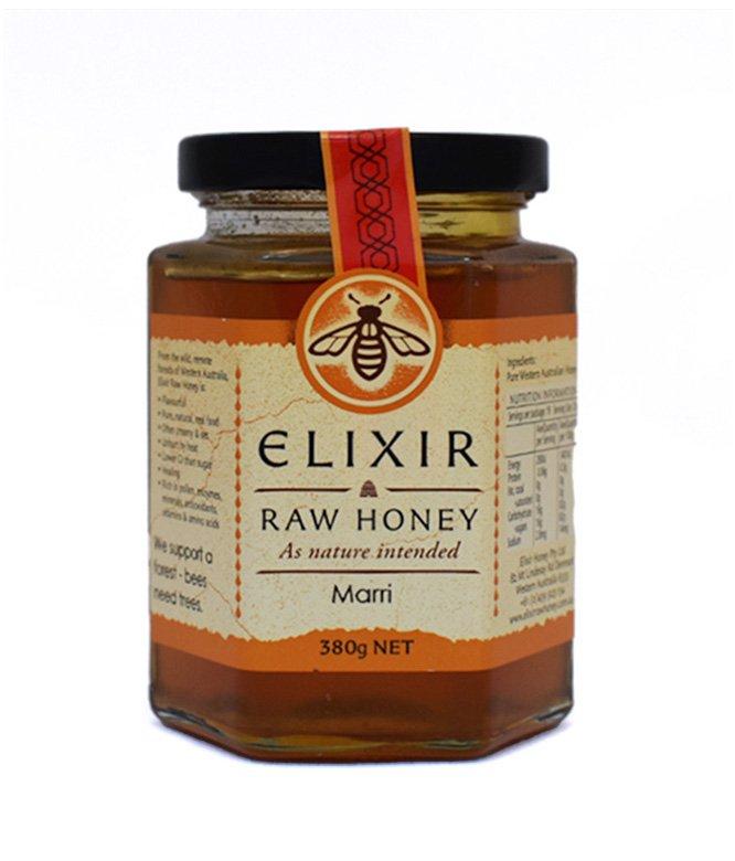 Elixir Raw Honey (380g)