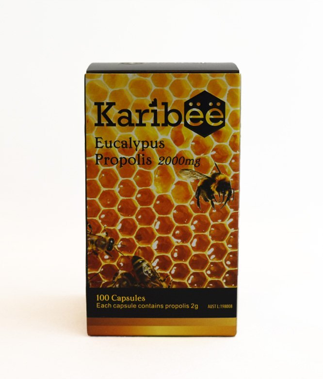 Eucalyptus Propolis 2000mg - Karibee (100 capsules)