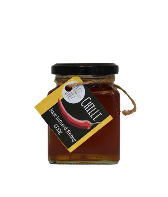 Zeez Beez Raw Infused Honey (200g) Chilli
