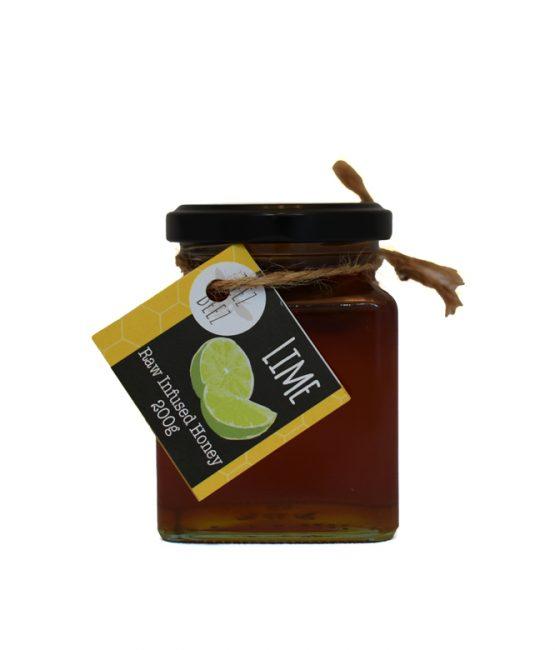 Zeez Beez Raw Infused Honey (200g) Lime