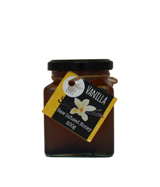 Zeez Beez Raw Infused Honey (200g) Vanilla