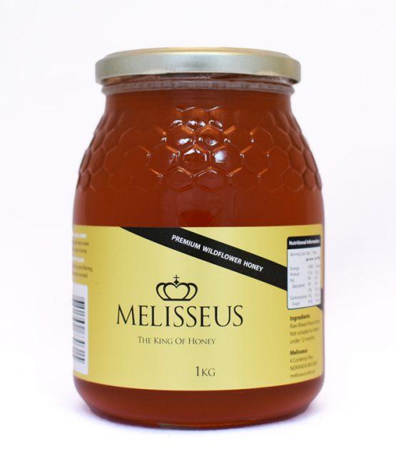 Melisseus Premium Wildflower Honey 1kg