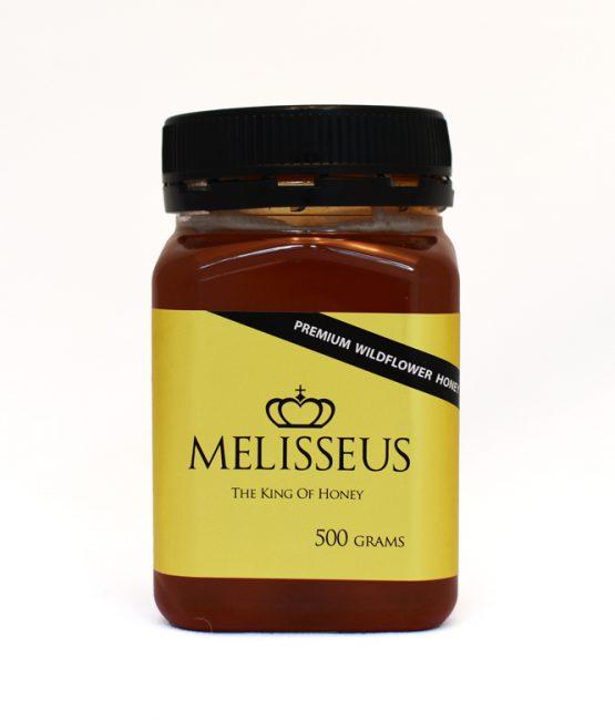 Melisseus Premium Wildflower Honey 500g