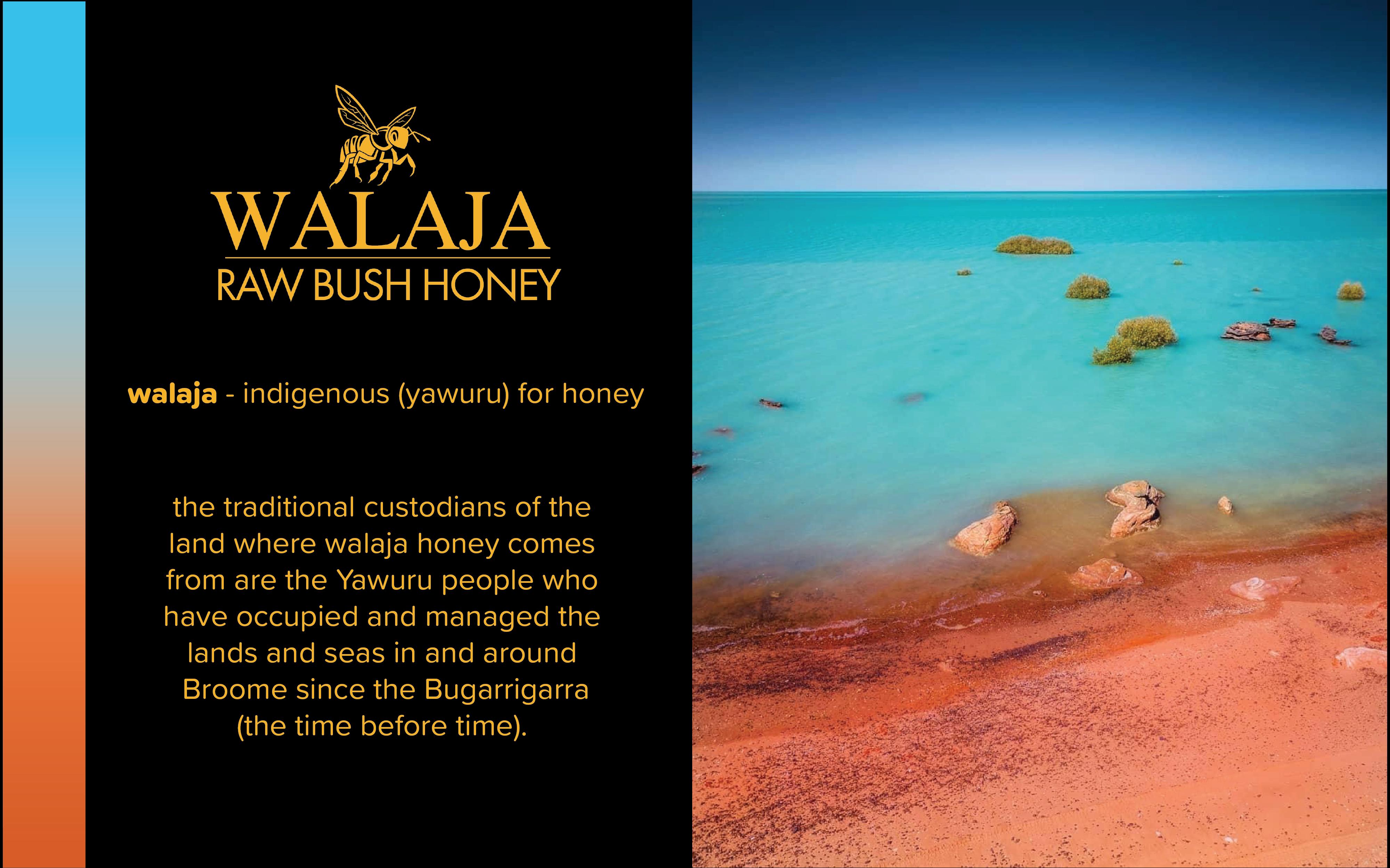 Walaja Raw Bush Honey Indigenous Yaruru