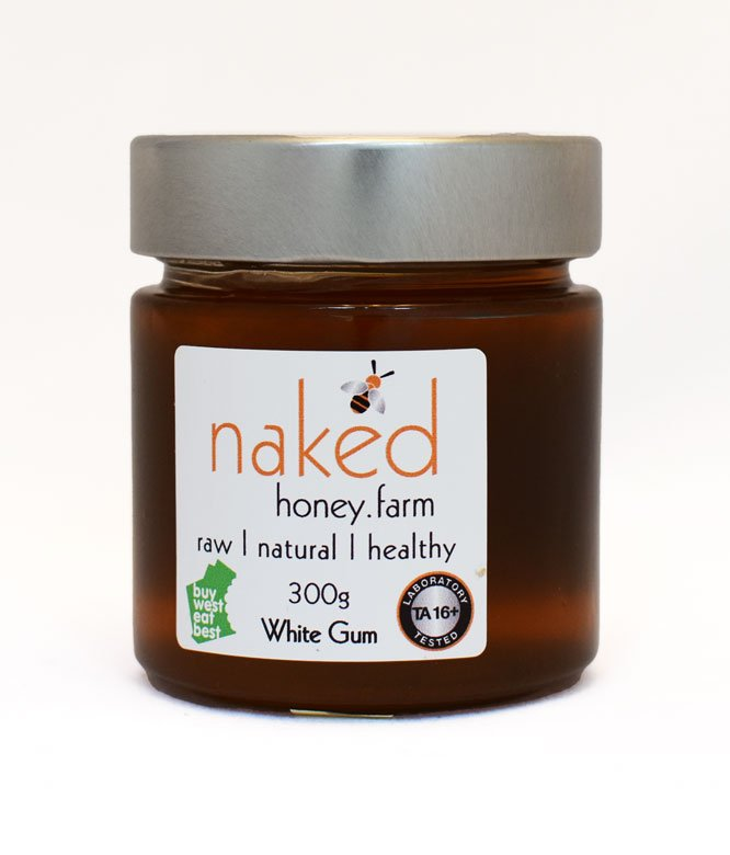 Naked Honey Farm TA16+ White Gum 300g