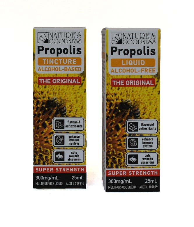 Natures Goodness Propolis Tincture 300mg/mL 25ml