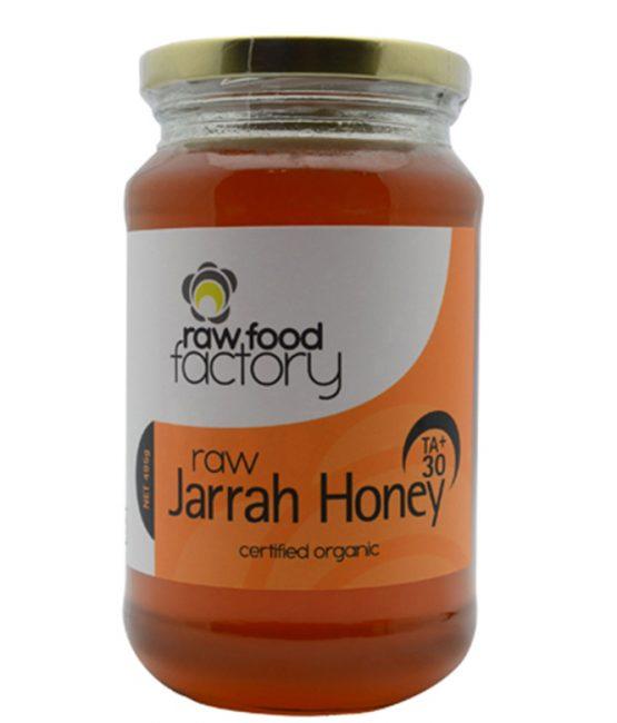Raw Food Factory TA30+ Jarrah Honey Certified Organic 495g