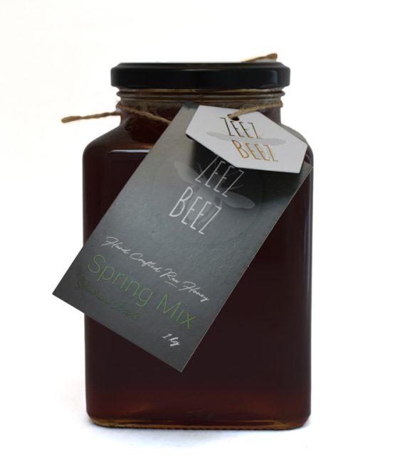 Zeez Beez Raw Honey (1kg) Spring Mix