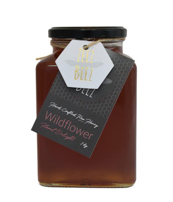 Zeez Beez Raw Honey (1kg) Wildflower