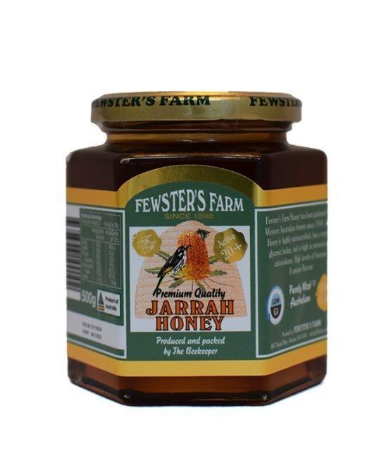 TA20+ Jarrah Organic Honey - Fewsters Farm (500g)