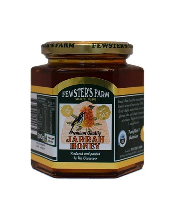 TA30+ Jarrah Organic Honey - Fewsters Farm (500g)