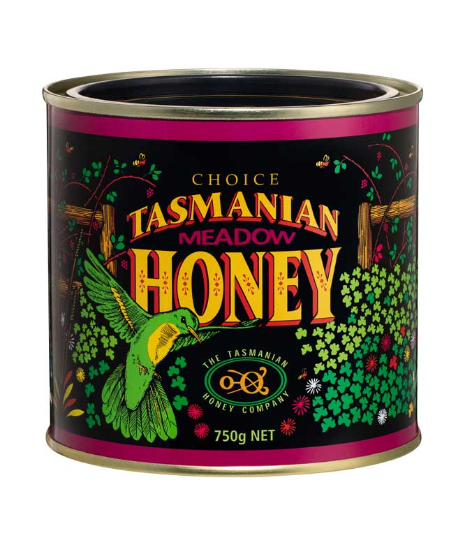 The Tasmanian Honey Company Meadow Honey 750g