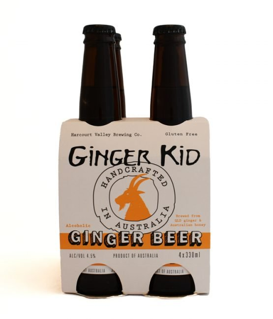 The Ginger Kid - Ginger Beer   Mead - 4.5% [12 pack] - Harcourt Valley (330ml)