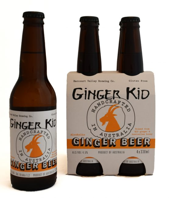 The Ginger Kid - Ginger Beer   Mead - 4.5% [24 carton] - Harcourt Valley (330ml)