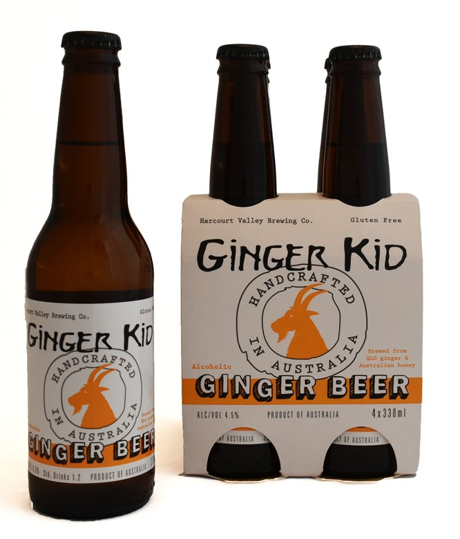 The Ginger Kid - Ginger Beer | Mead - 4.5% [24 carton] - Harcourt Valley (330ml)
