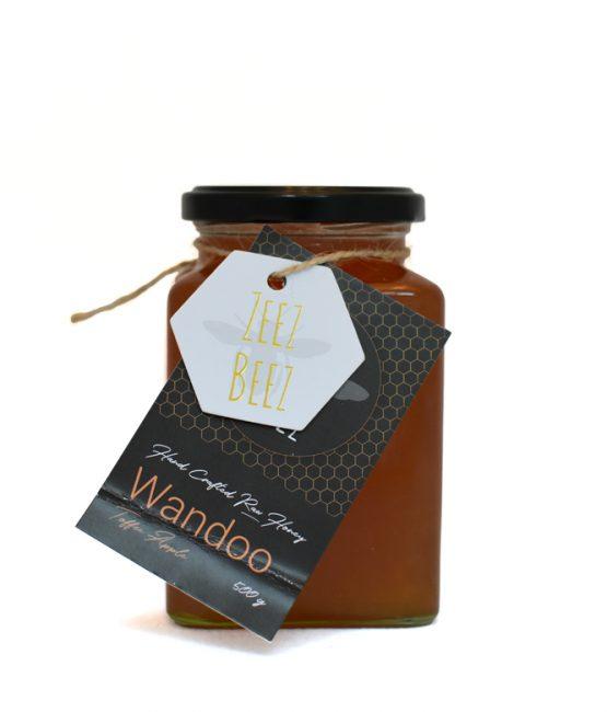 Zeez Beez Raw Honey (500g) Wandoo