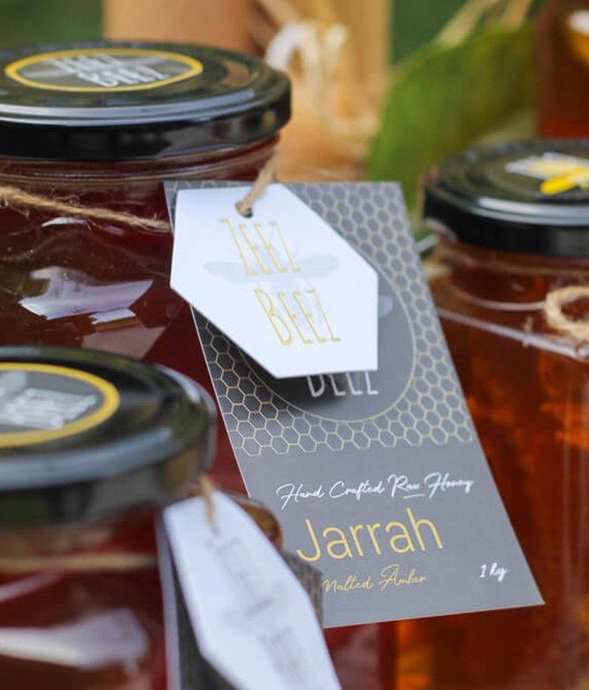 Zeez Beez Raw Honey Jarrah