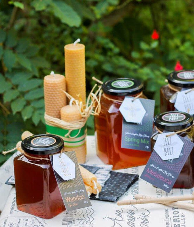 Zeez Beez Raw Honey Wandoo Whitegum Melaleuca
