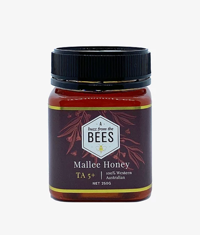 A Buzz from the Bees Mallee Honey TA5+ 250g